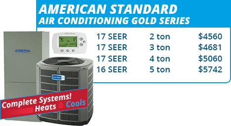 American Standard Gold Series Units