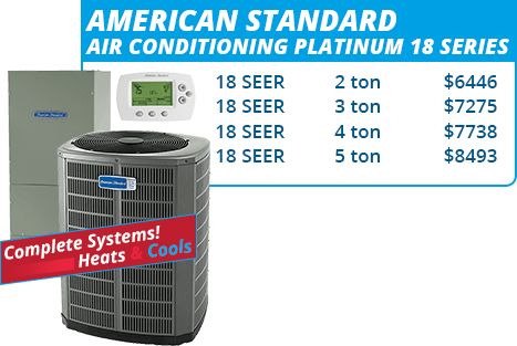 American Standard Platinum 18 Series Units