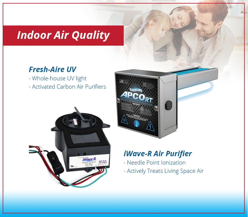 Fresh-Aire UV & iWave-R Air Purifier