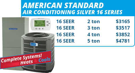 American Standard Silver 16 Series Units